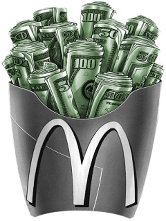 McDonaldu0027s Makes About US$75 Million Per Day.