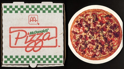 Marvelous McDonaldu0027s Used To Sell Pizza In The 70s.