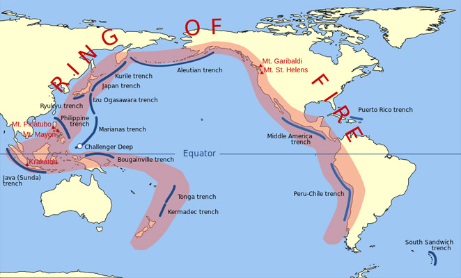 Ocean Facts Facts About The Ocean FACTSlides - Pacific ocean depth map