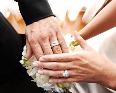 the tradition of exchanging wedding rings goes back to ancient egyptian times - Egyptian Wedding Rings